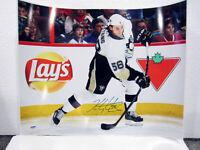KRIS LETANG Pittsburgh Penguins SIGNED Autographed 16x20 photo poster w/ PSA COA