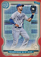 2020 Topps BUNT Whit Merrifield Gypsy Queen RED Base Iconic! [DIGITAL CARD}