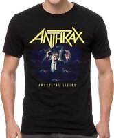 Anthrax Among The Living Heavy Thrash Metal Speed Music Band T Shirt ANT10081