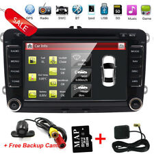 "Autoradio 7"" VW Navigatore GPS Mp3 USB DVD Micro SD Bluetooth Golf Passat Polo"
