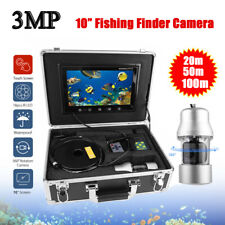 10 Inch 3MP Fish Finder Waterproof 38 LEDs Underwater Fishing Camera 20/50/100m