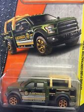 1:64 Matchbox '15 Ford F150 Contractor Truck