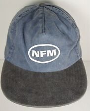 NEBRASKA FURNITURE MART NFM Home Office ADVERTISING Denim Adjustable HAT CAP