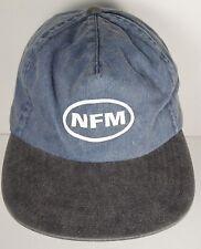 NEBRASKA FURNITURE MART NFM Home Office ADVERTISING Denim Adjustable HAT CAP