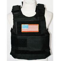 New Syle Tactical Paintball Body Armor Vest BK Black- US029