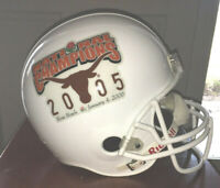Texas Longhorns 2005 National Champions Rose Bowl Full Size Helmet Display Only