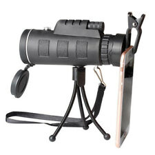 40X60 Travel HD Zoom Focus Optical Prism Monocular Telescope,phone clip,US Ship