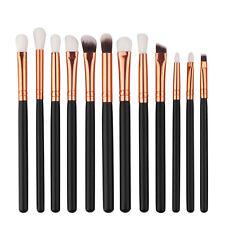 12pcs Makeup Brushes Set Eyeshadow Eyebrow Eyeliner Professional Lip Brush