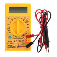 AC DC Multímetro Voltímetro Amperímetro Digital Pantalla LCD Probador de corriente de prueba D Ohm