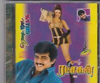 Bollywood CD: 2 films Ratchakan [audioCD] Rettai Jaddai Vayasu. AR Rahuman, Deva