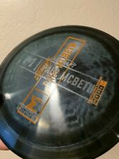 Rare Black Prototype Paul Mcbeth Double Stamp/ghost Stamp Anax Fairway Discraft