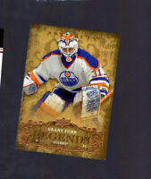 2008-09 Artifacts Oilers Hockey Card #129 Grant Fuhr #706/999 Edmonton Legends
