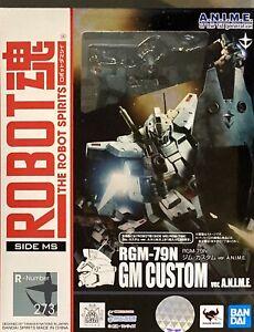 Bandai Robot Spirits Damashii Mobile Suit Gundam GM Custom Action Figure
