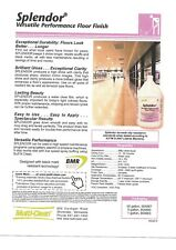 Cleaning Supplies Floor Finish - Splendor (Versatile Performance Floor Finish)