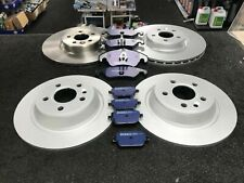 FORD FOCUS MK2 RS 2.5 2009 ON BRAKE DISCS BRAKE PADS FRONT REAR