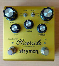 More details for strymon riverside drive pedal, boxed, good condition.