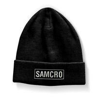 SAMCRO Sons of Anarchy M.C. Biker Motorrad Winter Hut Kappe Mütze Beanie