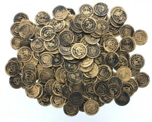 144 Gold Pirate Party Coins Treasure Chest Booty Play Money Party Favor