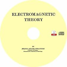 Electromagnetic Theory {1941} by Julius Adams Stratton ~ Book on CD