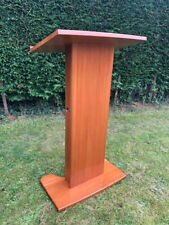 More details for lectern, solid cherry wood. used for a royal event by hrh the prince of wales.
