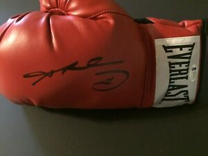 Sugar Ray Leonard Autographed Signed Boxing Glove - Beckett