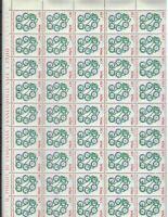 S22221) Italy 1973 MNH New Rotary 1v Sheet not Folded