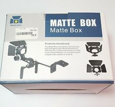Matte Box DLC Dot Line Corp Digital Video or DSLR Cine Display New in Box Camera