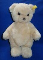 Steiff Teddy Bär Petsy ? beige Gelenke Knopf Fahne 0533/58  26 cm