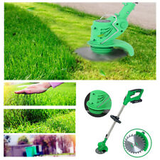 Cordless Powerful Electric Grass Weeds Lawn Trimmer Edger Weed Eater 21V Li-ion