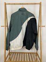 VTG Nike Men's Big Cutoff Swoosh Full Zip Track Windbreaker Jacket Size XL