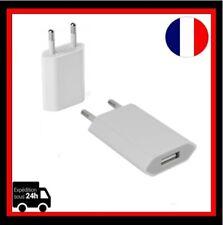 EU Prise secteur USB Chargeur adaptateur universel, BLanc, 1000mA Lots 1-20