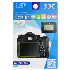 2x LCD Film Screen Display H3 Hard Protection Camera Photo for Pentax K-1