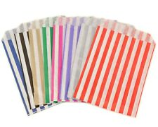 More details for sweet bags candy stripe paper pick n mix gift party bags wedding candy cart gift