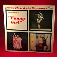 DIANA ROSS & THE SUPREMES Sing And Perform Funny Girl 1969 UK Vinyl LP EXCELLENT