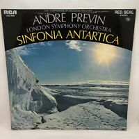 Vaughan Williams London Symphony Orchestra Sinfonia Antartica Vinyl Record