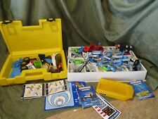 Fisher Price Fishing Construx building system wheels 8+ pounds Lunar space books
