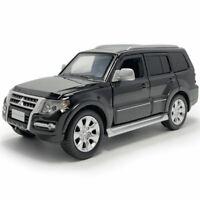 1:32 Mitsubishi Pajero SUV Die Cast Modellauto Spielzeug Model Sammlung Schwarz