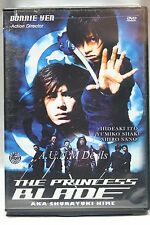 the princess blade donnie yen ntsc import dvd