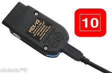 Ross-tech HEX-V2  10 VIN  + VCDS en Français . OFFICIEL et ORIGINAL ! VAG-COM
