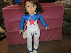 """18"""" Doll Outfit Doll NOT INCLUDED Gymnast suit, sweatpants, bag hat, & sneakers"""