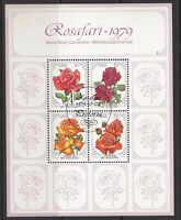 RSA1084) RSA 100th Anniversary of the Zulu War M/S & World Rose Convention M/S,
