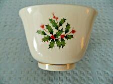 Lenox Christmas Holly Bowl Made in USA