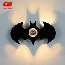 Batman Shadow Wall Lamp Night Light for Bedroom Kids Room Bat Man