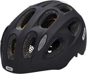 Abus Youn-I Velvet Black Medium Mips Bike helmet with light 52-57cm UK Ship FOC