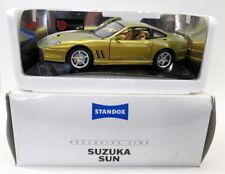 Burago 1/18 Scale Diecast - Standox Suzuka Sun Ferrari Marranello
