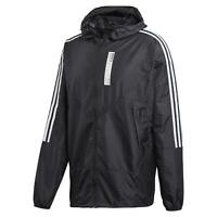 adidas ORIGINALS MEN'S NMD KARKAJ WINDBREAKER BLACK JACKET WALKING HOODED