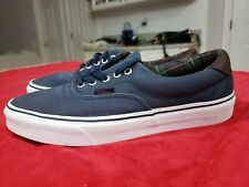 Vans TB4R Mens Size 10 US Skate Shoes Blue. EUC