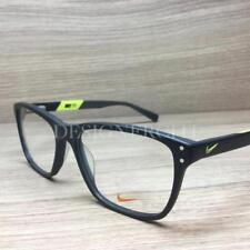 c5ec497a99 Nike 7241 Eyeglasses Matte Grey Neon Green 001 Authentic 54mm