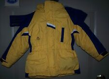 Go Blue-Boy's 3T Michigan HOODED zip out Lining Coat Jacket-Super Nice
