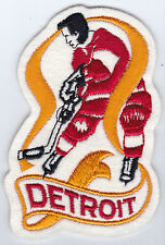"""1960'S/70'S DETROIT RED WINGS NHL HOCKEY VINTAGE 4.5"""" PLAYER LOGO TEAM PATCH"""